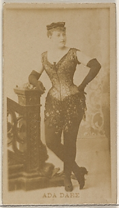 Ada Dare, from the Actors and Actresses series (N45, Type 8) for Virginia Brights Cigarettes