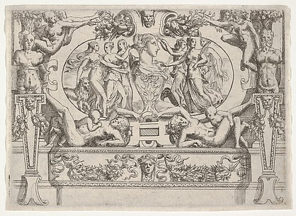 Mythological Frieze