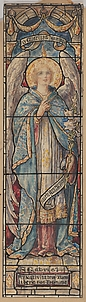 St. Gabriel: Design for a Stained Glass Window