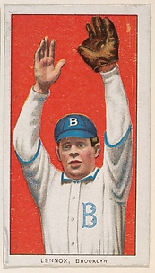 Lennox, Brooklyn, National League, from the White Border series (T206) for the American Tobacco Company