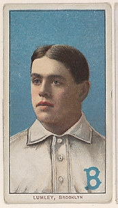 Lumley, Brooklyn, National League, from the White Border series (T206) for the American Tobacco Company