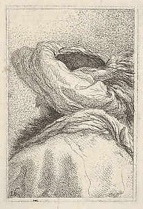 Turk seen from Behind, from the Series of Heads