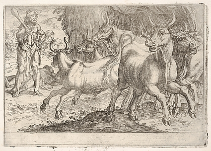 Hercules and the Oxen of Geryones, from the Labors of Hercules