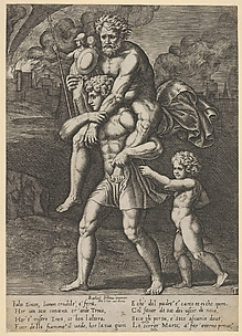 Aeneas and Anchises (with Ascanius)