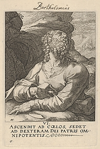 Bartholomew (from Christ, the Twelve Apostles, and Paul)