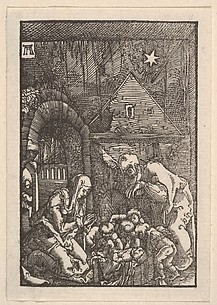 Nativity, from The Fall and Salvation of Mankind Through the Life and Passion of Christ