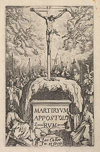 Frontispiece, from The Little Apostles or the Martyrdom of the Apostles (Les Petits Apotres ou le Martyre des Apotres)