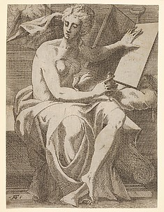 Sibyl with Tablet