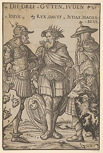 The Three Jewish Heroes (Die Drei Guten Juden), from Heroes and Heroines