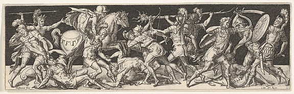 Plate from Battles and Victories (Combats et Triomphes)