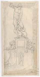 Study for a Sculpture of Neptune