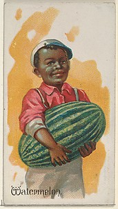 Watermelon, from the Fruits series (N12) for Allen & Ginter Cigarettes Brands