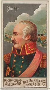 Gebhard Leberecht von Blücher, from the Great Generals series (N15) for Allen & Ginter Cigarettes Brands