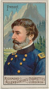 John Charles Frémont, from the Great Generals series (N15) for Allen & Ginter Cigarettes Brands