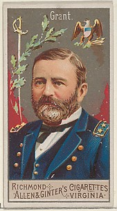 Ulysses S. Grant, from the Great Generals series (N15) for Allen & Ginter Cigarettes Brands