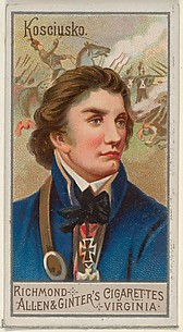 Andrzej Tadeusz Bonawentura Kosciuszko, from the Great Generals series (N15) for Allen & Ginter Cigarettes Brands