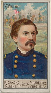 George Brinton McClellan, from the Great Generals series (N15) for Allen & Ginter Cigarettes Brands