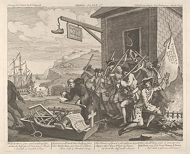 The Invasion, Plate 1: France