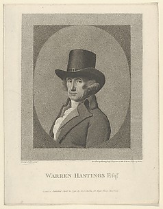 Portrait of Warren Hastings, Esq.