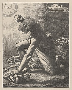 Jacob Hears the Voice of the Lord (Dalziels' Bible Gallery)