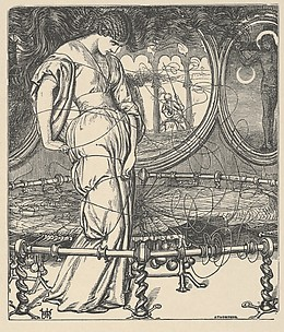 The Lady of Shalott (Tennyson's Poems, New York, 1903)