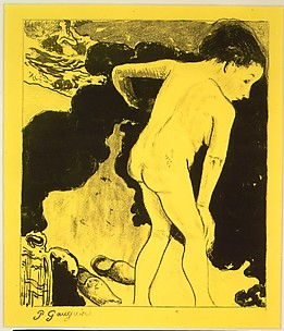 Bathers in Brittany, from the Volpini Suite: Dessins lithographiques