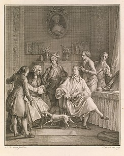 The Morning Toilet (La Petite Toilette), from Le Monument du Costume