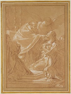 The Last Communion of St. Mary Magdalen, after Benedetto Luti