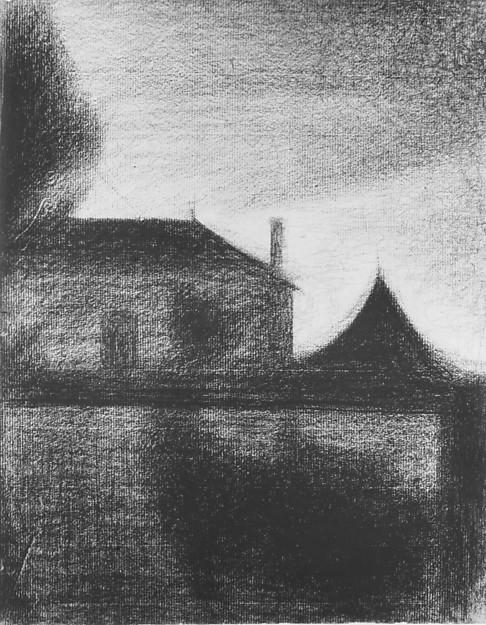 House at Dusk (La Cité)