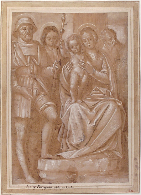 The Virgin and Child with Saint Roch and Two Other Male Saints