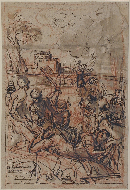 Scene of Martyrdom