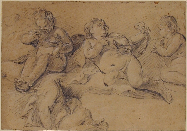 Four Studies of a Nude Child