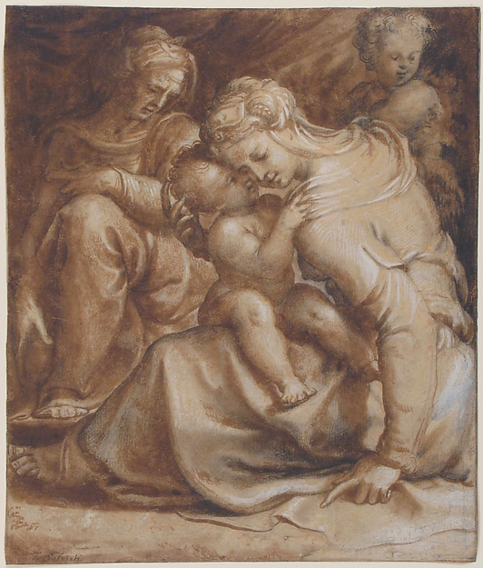 Virgin and Child with Saint Anne and John the Baptist