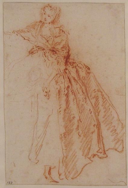 """Study for """"M. de Pourceaugnac"""""""