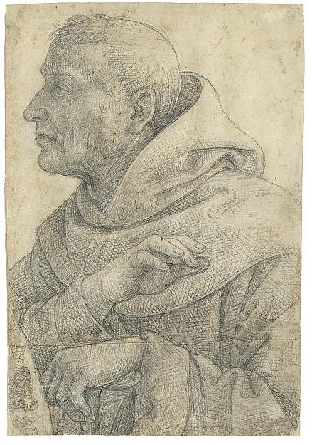 The Blessed Egidius (Cartoon for a Fresco)