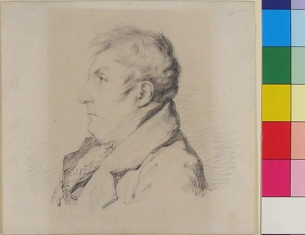 Portrait of Louis-Francois Bertin, l'ainé