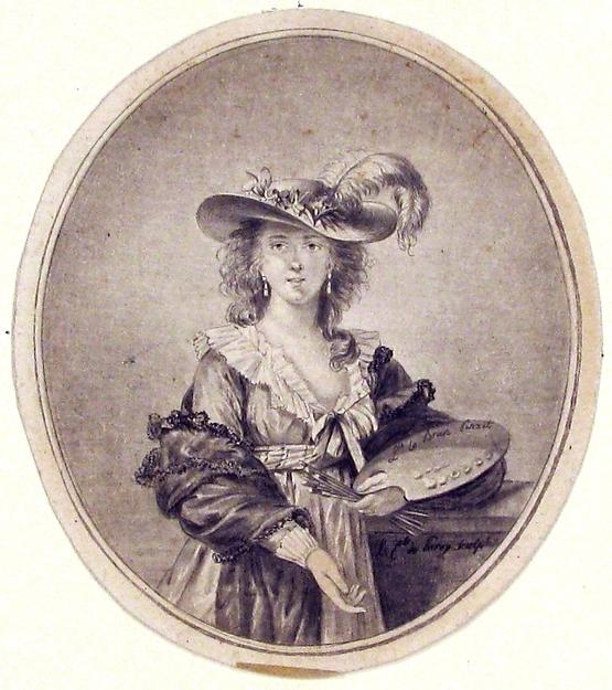 Portrait of Vigée-Lebrun