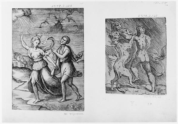 Hercules Killing Cerberus
