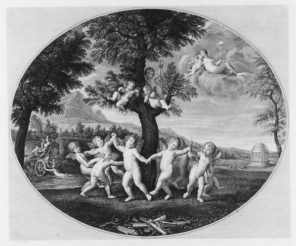 Amorini Celebrate the Rape of Persephone