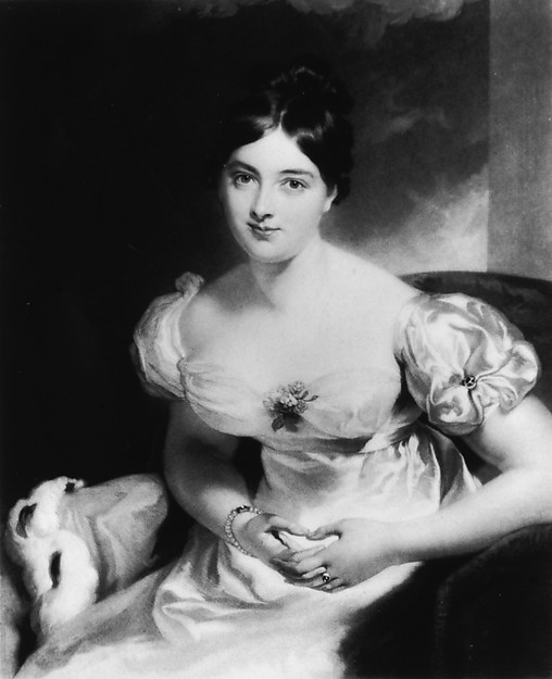 Portrait of Marguerite, Countess of Blessington