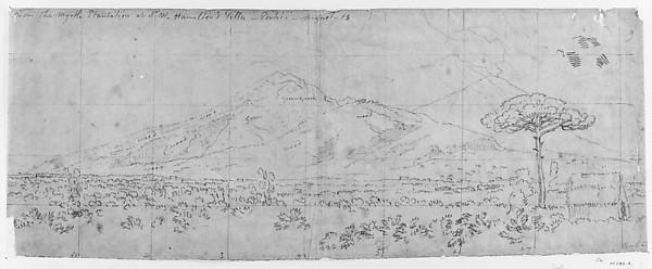 View of Vesuvius