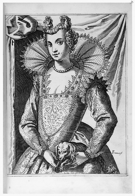 Habiti delle Donne Venetiane (Dress of Venetian Women)