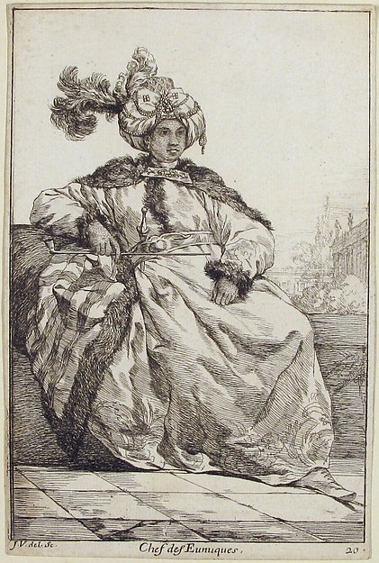 Chef des Eunuques (head of the Eunuchs), from the series