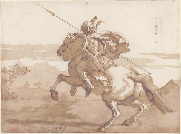 An Oriental Horseman