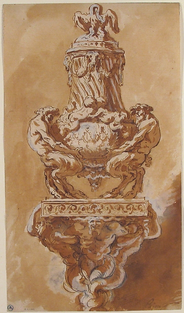 Design for a Vase and Supporting Console