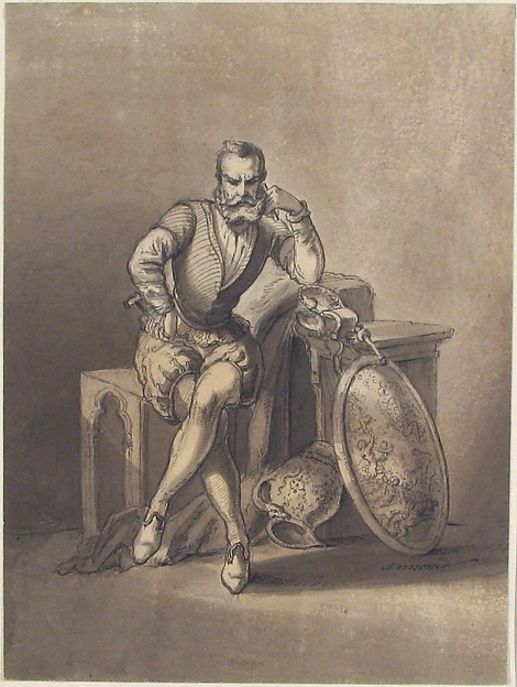 Portrait of a Silversmith, Seated
