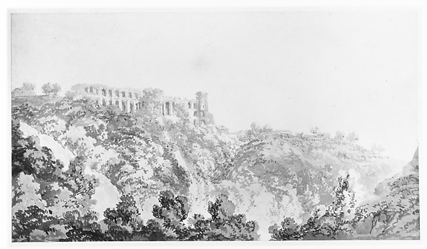 Tivoli, Villa of Maecenas and part of the Cascatelle