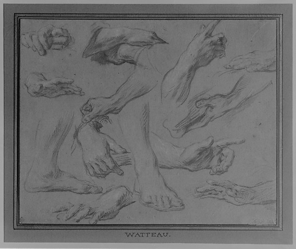 Studies of Hands and Feet