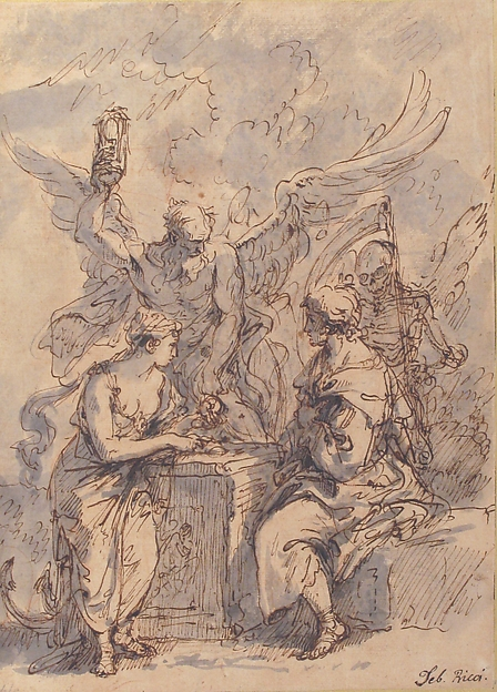Allegory with Figures of Hope, Time, and Death