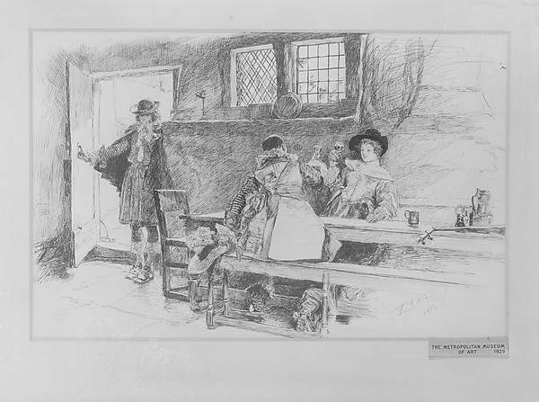 "In a Tavern, Illustration for ""Phillada Flouts Me"""